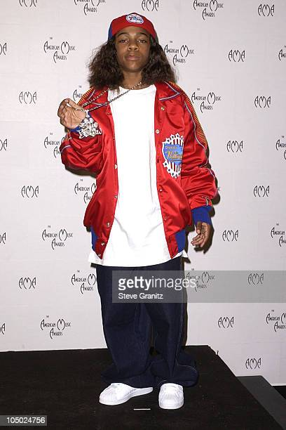 Lil' Bow Wow during The 29th Annual American Music Awards Press Room at The Shrine Auditorium in Los Angeles California United States