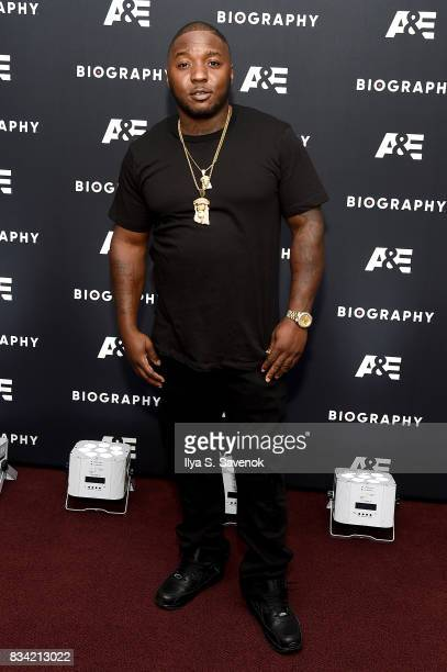 Lil' Cease attends the screening of AE 'Biography Presents Biggie The Life Of Notorious BIG' at DGA Theater on August 17 2017 in New York City
