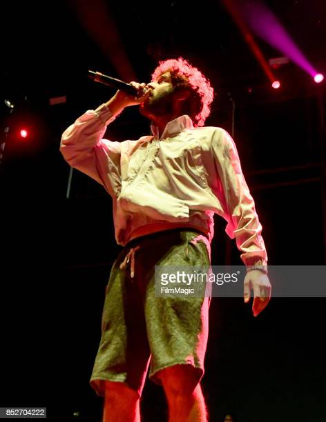 Lil Dicky performs on Ambassador Stage during day 2 of the 2017 Life Is Beautiful Festival on September 23 2017 in Las Vegas Nevada
