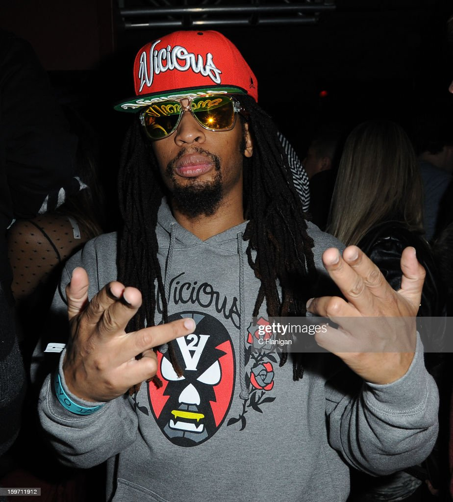 Lil John poses during the TAO party at Sundance on January 18, 2013 in Park City, Utah.