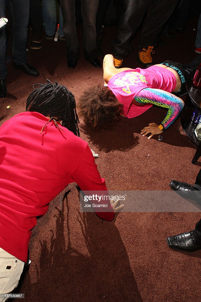 <a gi-track='captionPersonalityLinkClicked' href=/galleries/search?phrase=Lil+Jon+-+Rapper&family=editorial&specificpeople=202659 ng-click='$event.stopPropagation()'>Lil Jon</a> and <a gi-track='captionPersonalityLinkClicked' href=/galleries/search?phrase=Redfoo&family=editorial&specificpeople=5857552 ng-click='$event.stopPropagation()'>Redfoo</a> of LMFAO attend the T-Mobile Presents Google Music at TAO, a nightlife event at the 2012 Sundance Film Festival on January 21, 2012 in Park City, Utah.
