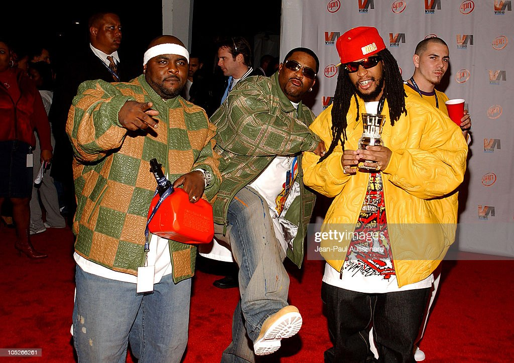 Lil Jon and the East Side Boys during 2003 VIBE Awards Arrivals at Civic Auditorium in Santa Monica California United States