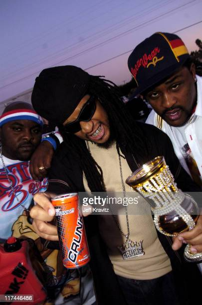 Lil' Jon and The East Side Boyz during Spike TV's 2nd Annual 'Video Game Awards 2004' Red Carpet at Barker Hangar in Santa Monica California United...