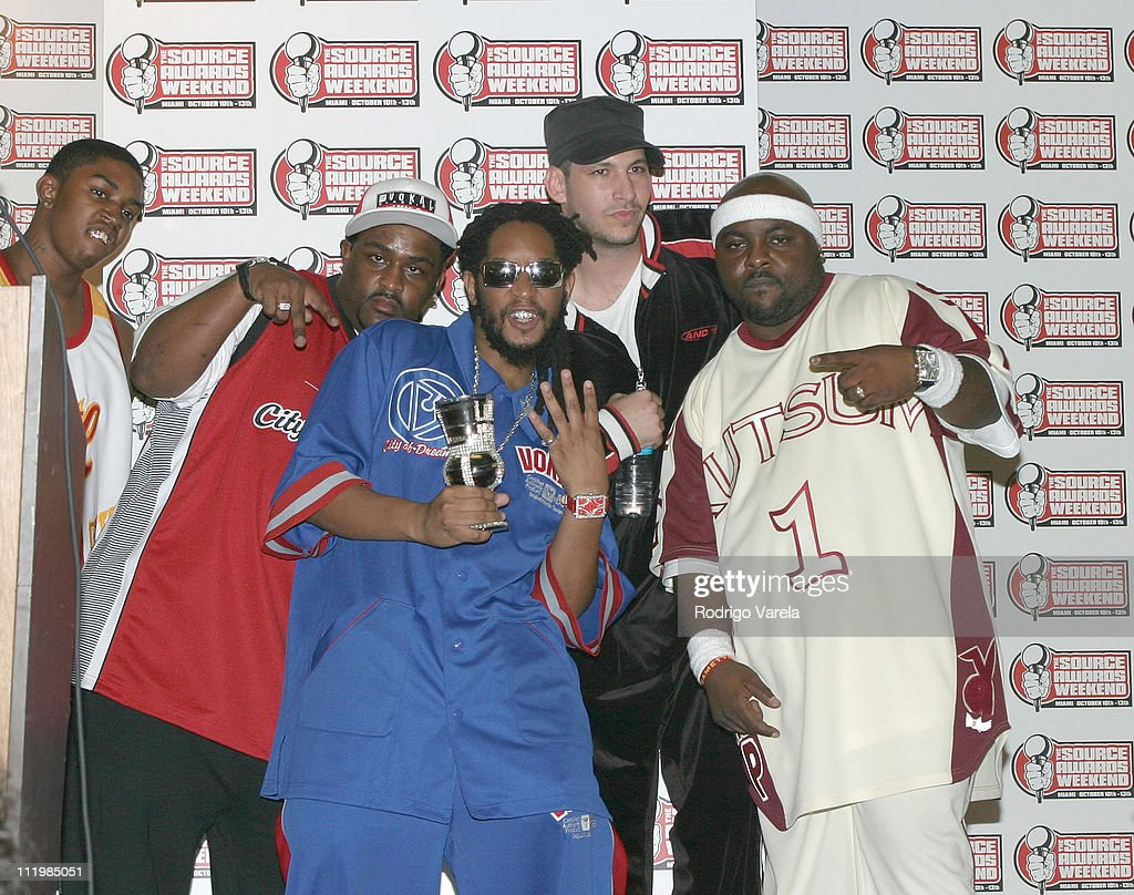 Lil Jon and the East Side Boyz during The Source HipHop Music Awards Pressroom at Miami Arena in Miami