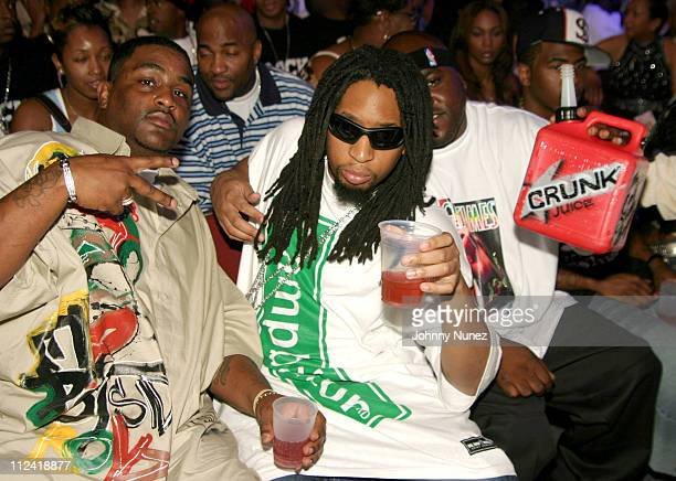 Lil Jon and the Eastside Boys during The 2004 Source Awards Inside at James E Knight Theater in Miami Florida United States
