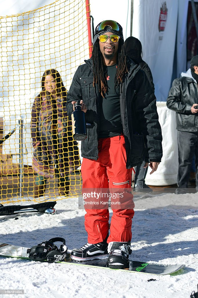 <a gi-track='captionPersonalityLinkClicked' href=/galleries/search?phrase=Lil+Jon+-+Rapper&family=editorial&specificpeople=202659 ng-click='$event.stopPropagation()'>Lil Jon</a> attends Day 2 of Village At The Lift 2013 on January 19, 2013 in Park City, Utah.