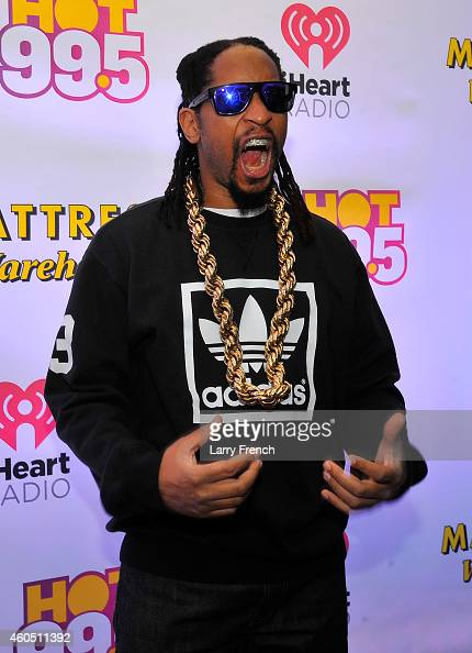 Lil Jon attends HOT 995's Jingle Ball 2014 Presented by Mattress Warehouse at the Verizon Center on December 15 2014 in Washington DC
