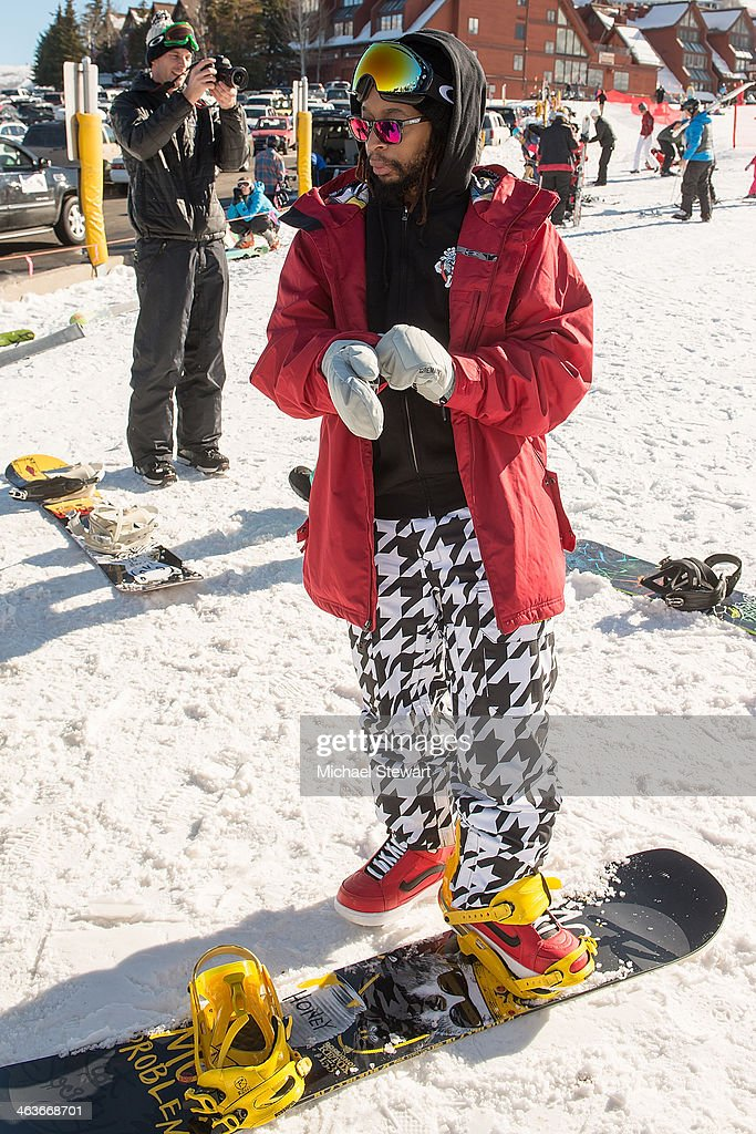 DJ Lil Jon attends Oakley Learn To Ride With AOL at Sundance on January 18, 2014 in Park City, Utah.