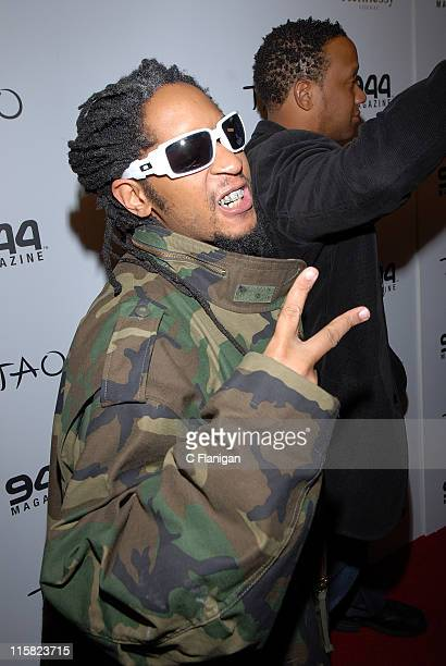 Lil' Jon attends the 944 Magazine Party at TAO nightclub during The Sundance Film Festival in Park City Utah on January 20 2008