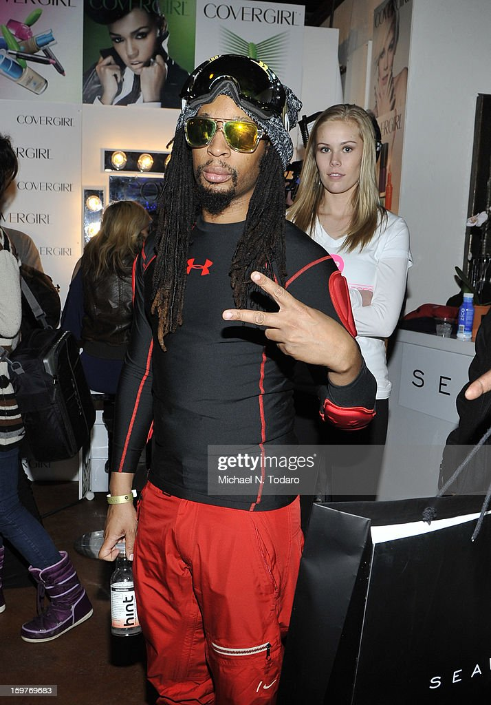 <a gi-track='captionPersonalityLinkClicked' href=/galleries/search?phrase=Lil+Jon+-+Rappare&family=editorial&specificpeople=202659 ng-click='$event.stopPropagation()'>Lil Jon</a> attends the TR Suites Daytime Lounge - Day 2 on January 19, 2013 in Park City, Utah.