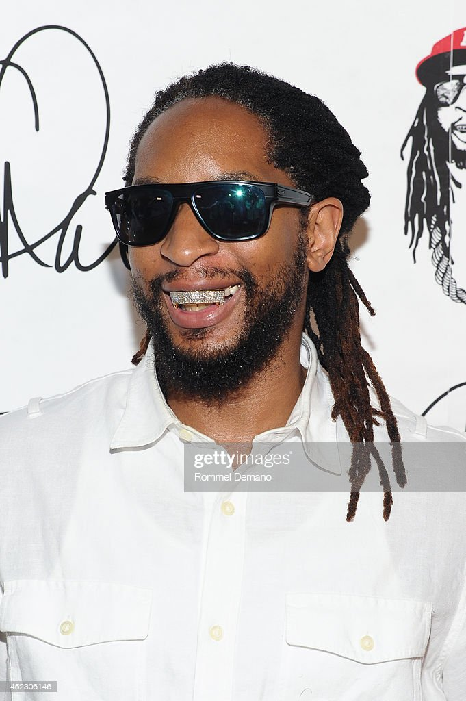 LIl Jon attends Wendy Williams 50th birthday celebration at Out Hotel on July 17 2014 in New York City