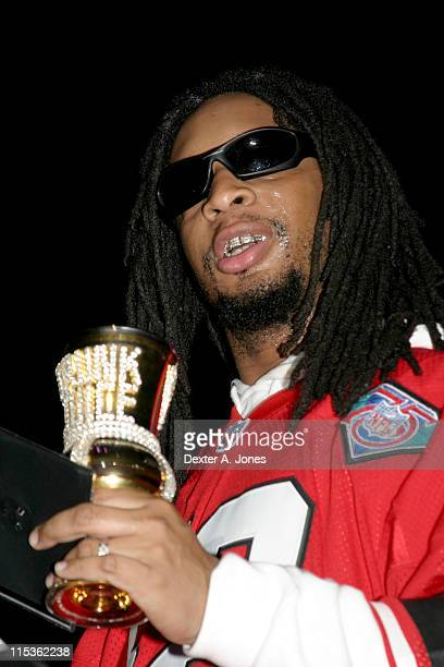 Lil Jon during Hot 937 Jingle Jam 2004 at Hartford Civic Centre in Hartford Connecticut United States