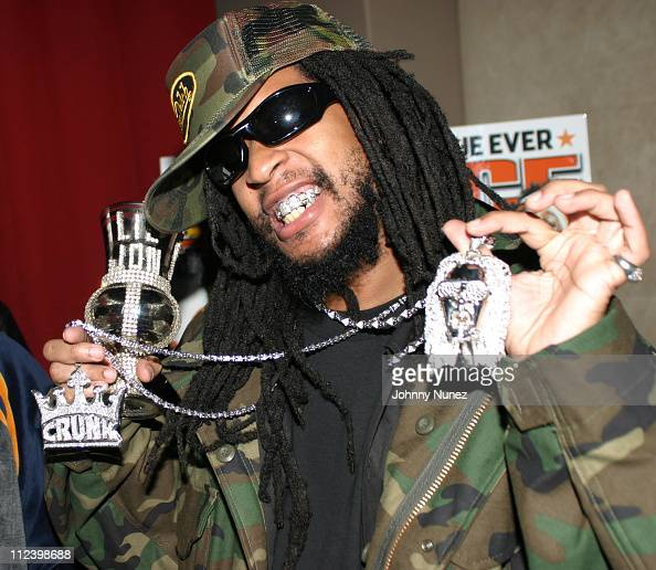 Lil Jon during Lil Jon The Eastside Boyz' 'King Of Crunk' Double Platinum Party at Lobby in New York City New York United States