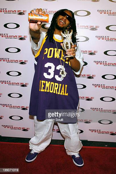 Lil Jon during Oakley Thump 2 Launch Party October 12 2005 at Montmartre Lounge in Hollywood California United States