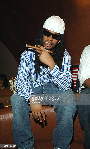 Lil' Jon during Olympus Fashion Week Spring 2006 Tommy Hilfiger 20th Anniversary Celebration After Party Inside at Bryant Park in New York City New...