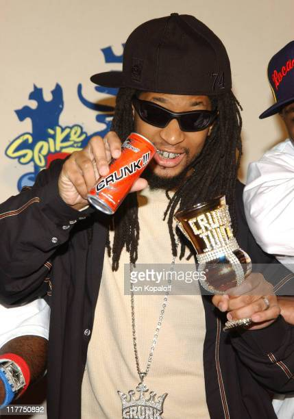 Lil' Jon during Spike TV's 2nd Annual 'Video Game Awards 2004' Arrivals at Barker Hangar in Santa Monica California United States