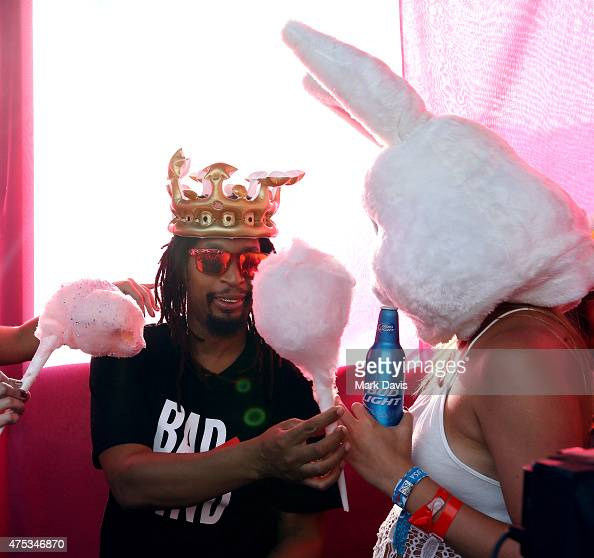Lil Jon participates in RentAWhatever at Whatever USA on May 30 2015 in Catalina Island California Bud Light invited 1000 consumers to Whatever USA...