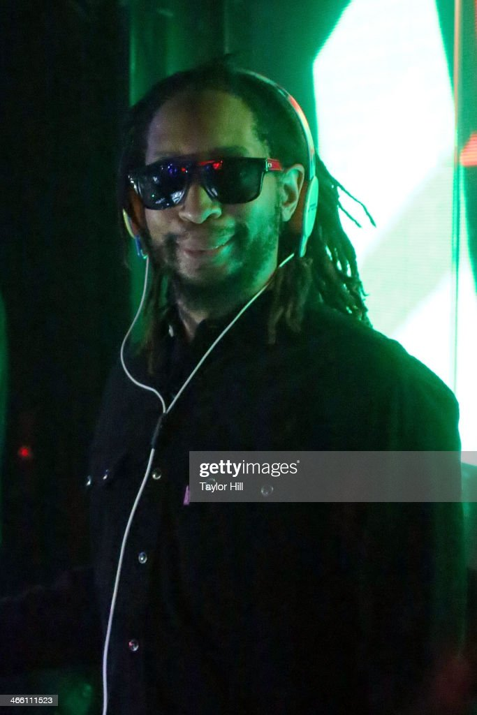 Lil Jon performs a DJ set at LAVO NYC on January 30 2014 in New York City