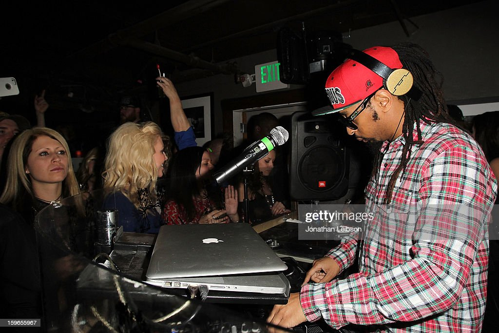 Lil Jon performs at the Lil Jon Birthday Party at Downstairs Bar on January 17, 2013 in Park City, Utah.