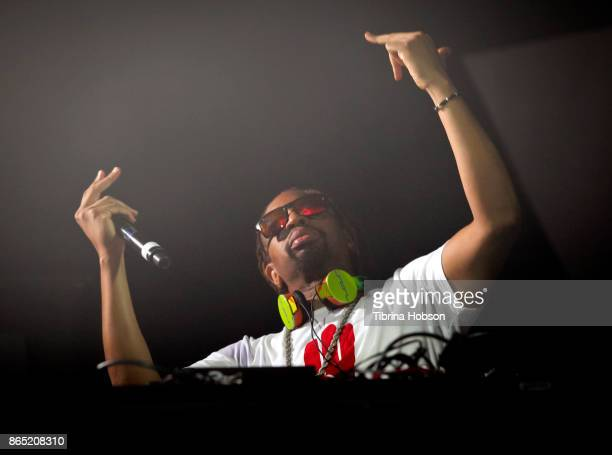 Lil Jon performs at the Lost Lake Music Festival on October 21 2017 in Phoenix Arizona