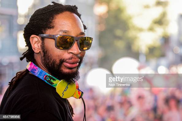 Lil Jon performs during the Whatever Welcome Parade at Bud Light's Whatever USA on September 5 2014 in Crested Butte Colorado