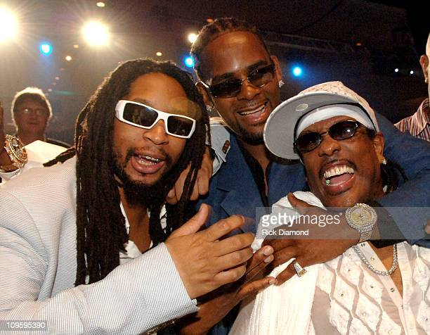Lil' Jon R Kelly and Charlie Wilson of The Gap Band