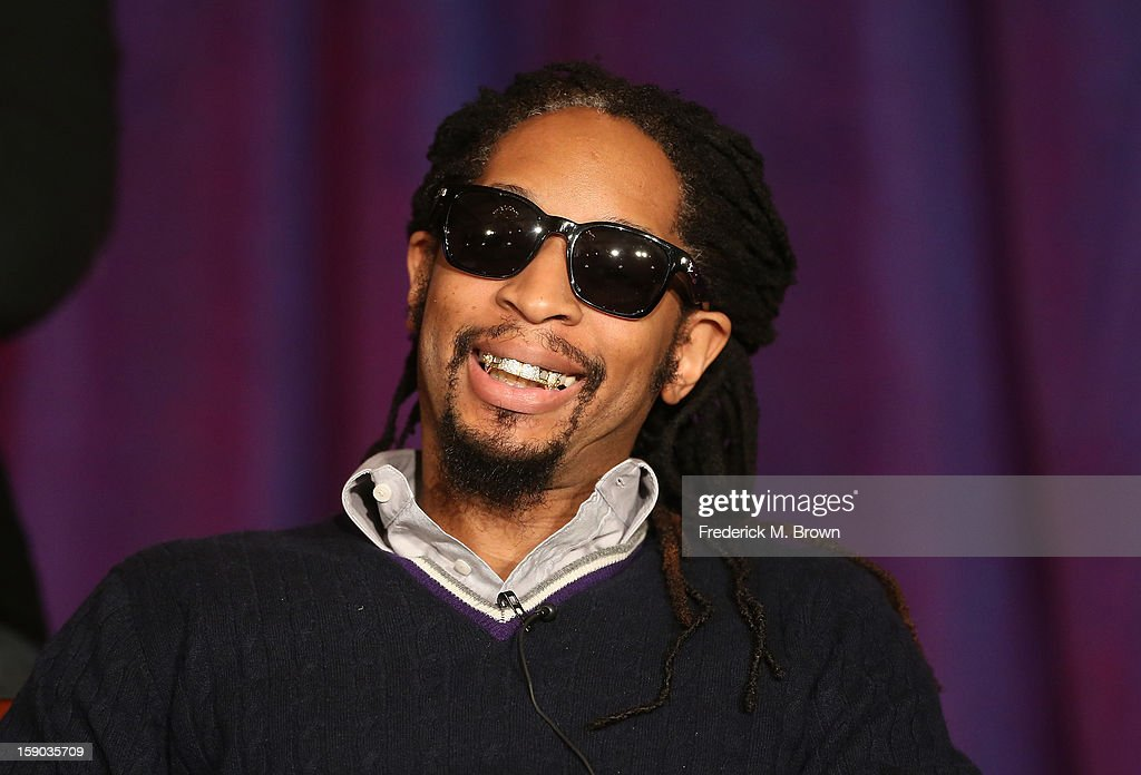 Lil Jon speaks onstage at the 'All Star Celebrity Apprentice' breakfast session of the 2013 Winter TCA Tour- Day 3 at the Langham Hotel on January 6, 2013 in Pasadena, California.
