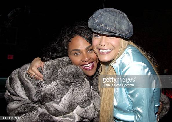 Lil Kim and Blu Cantrell...