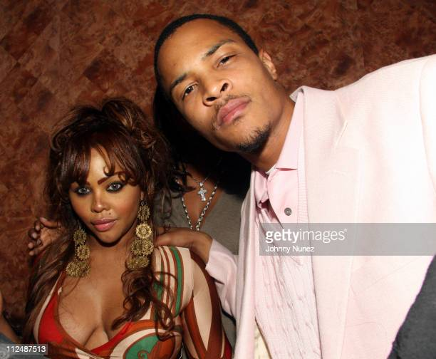 Lil Kim and Ti during Sean 'Diddy' Combs 'Press Play' CD Listening Party and Andre Harrell Birthday Party September 25 2006 at Tenjune in New York...