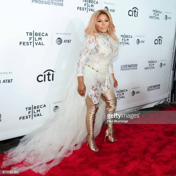 Lil Kim attends 'Can't Stop Won't Stop The Bad Boy Story' Premiere 2017 Tribeca Film Festival at The Beacon Theatre on April 27 2017 in New York City