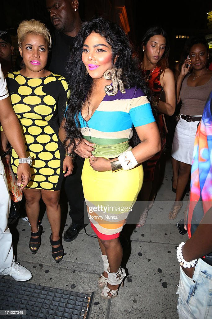 Lil Kim attends her Birthday Party at Greenhouse on July 18 2013 in New York City