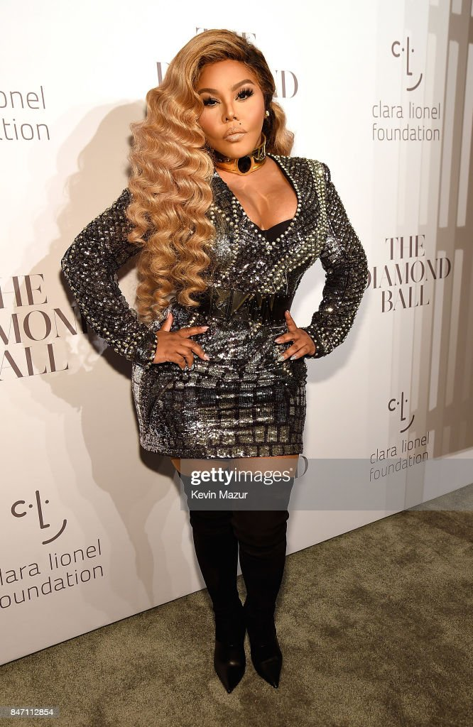 Lil' Kim attends Rihanna's 3rd Annual Diamond Ball Benefitting The Clara Lionel Foundation at Cipriani Wall Street on September 14, 2017 in New York City.