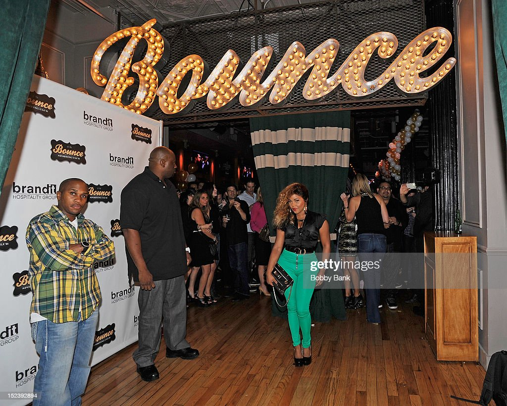 Lil Kim attends the 1 year anniversary party at Bounce Sporting Club on September 19, 2012 in New York City.