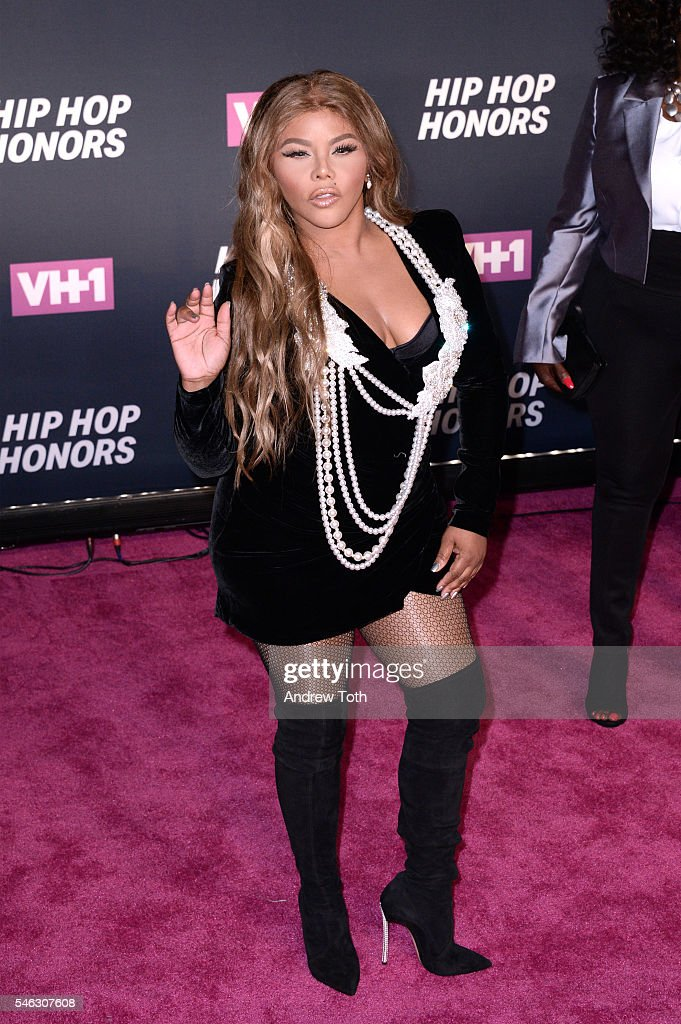Lil Kim attends the 2016 VH1 Hip Hop Honors All Hail The Queens at Hammerstein Ballroom on July 11 2016 in New York City