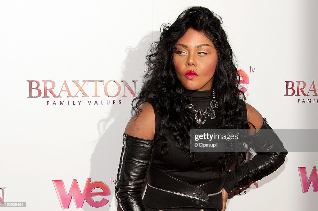 Lil' Kim attends the 'Braxton Family Values' Season Three premiere party at STK Rooftop on March 13, 2013 in New York City.