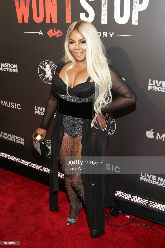 Lil Kim attends the Los Angeles Premiere Of 'Can't Stop Won't Stop' at Writers Guild of America, West on June 21, 2017 in Los Angeles, California.