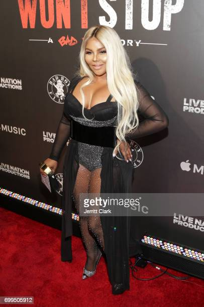 Lil Kim attends the Los Angeles Premiere Of 'Can't Stop Won't Stop' at Writers Guild of America West on June 21 2017 in Los Angeles California