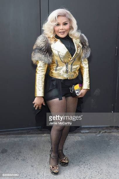 Lil' Kim attends the Marc Jacobs Fall 2017 Show at Park Avenue Armory on February 16 2017 in New York City