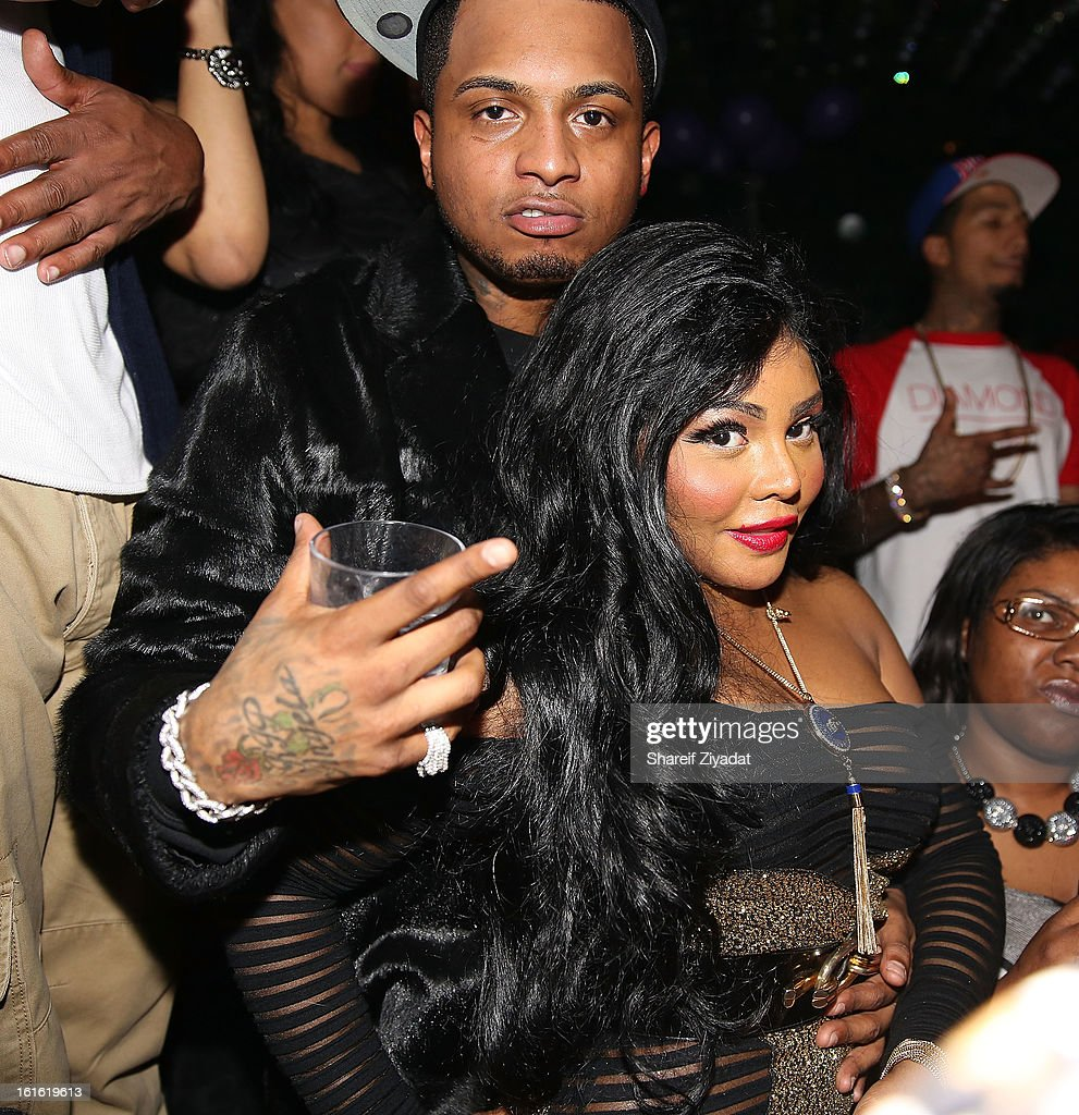 Lil Kim attends the official victory party of the Baltimore Ravens at Greenhouse on February 13, 2013 in New York City.