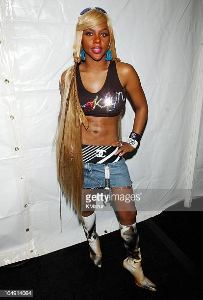 Lil' Kim during 2001 MTV Video Music Awards Audience and Backstage at The Metropolitan Opera House at Lincoln Center in New York City New York United...
