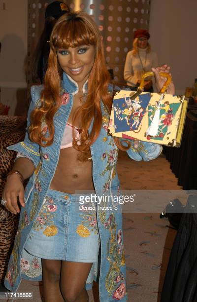Lil' Kim during 2003 Spike TV Video Game Awards Backstage Creations Gift Bags Presentation at The MGM Grand Hotel And Casino Resort in Las Vegas...