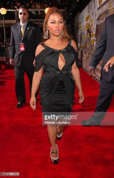 Lil' Kim during 2006 VH1 Hip Hop Honors Red Carpet at Hammerstein Ballroom in New York City New York United States