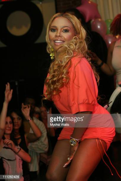 Lil Kim during Birthday Party for Melaine Linal with a Special Performance by Lil Kim at Canal Room in New York City New York United States