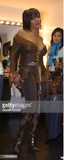 Lil Kim during Joint Chief's Concert At The Apollo November 23 2004 at Apollo in New York United States