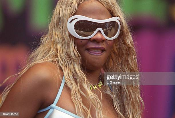 Lil' Kim during KMEL 106 Summer Jam 2000 at Shoreline Amphitheatre in Mountain View California United States