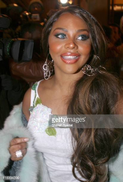 Lil' Kim during Lil' Kim Sighting December 13 2004 at Justins in New York City New York United States