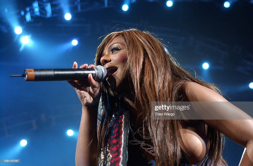 # 9 - Lil' Kim, with a little help from 50 Cent, hit #2 in the charts with 'Magic Stick' in 2003.