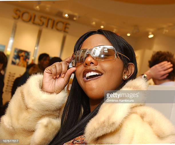 Lil' Kim during Solstice Store in Short Hills Mall Grand Opening With Guest Appearance By Lil' Kim at Short Hills Mall in Short Hills New Jersey