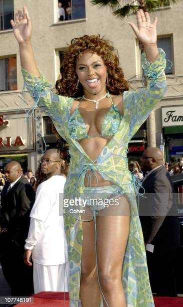 Lil' Kim during The 3rd Annual BET Awards Red Carpet at The Kodak Theater in Hollywood California United States