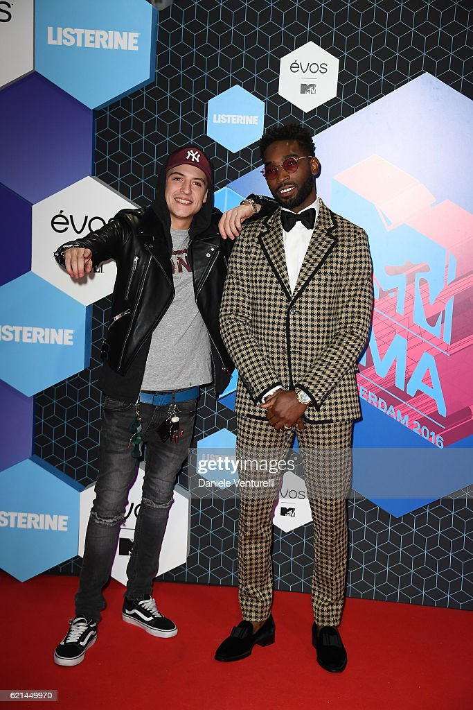 lil-kleine-and-tinie-tempah-attend-the-mtv-europe-music-awards-2016-picture-id621449970